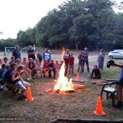 Histoire du moulin autour du feu