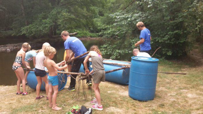 Raft construction