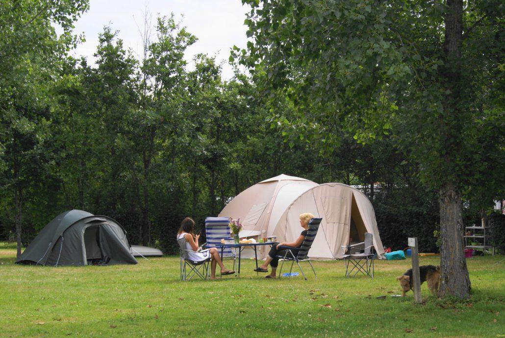 Ruime kampeerplekken