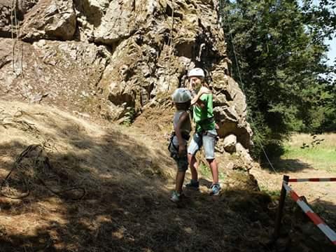 Bergwandklimmen op camping Moulin de Piot
